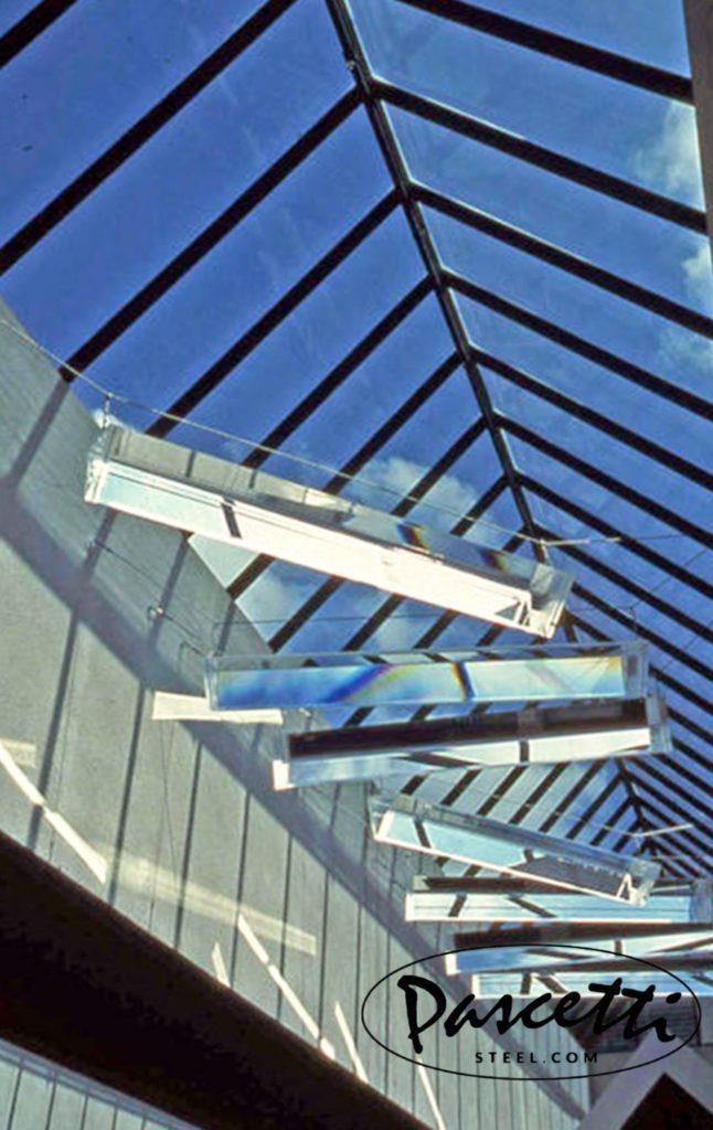 Solar Spectrum Prisms Abq Convention Center Pascetti Steel Design